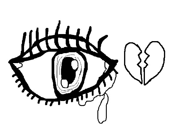 Pin On Eyes Coloring Pages