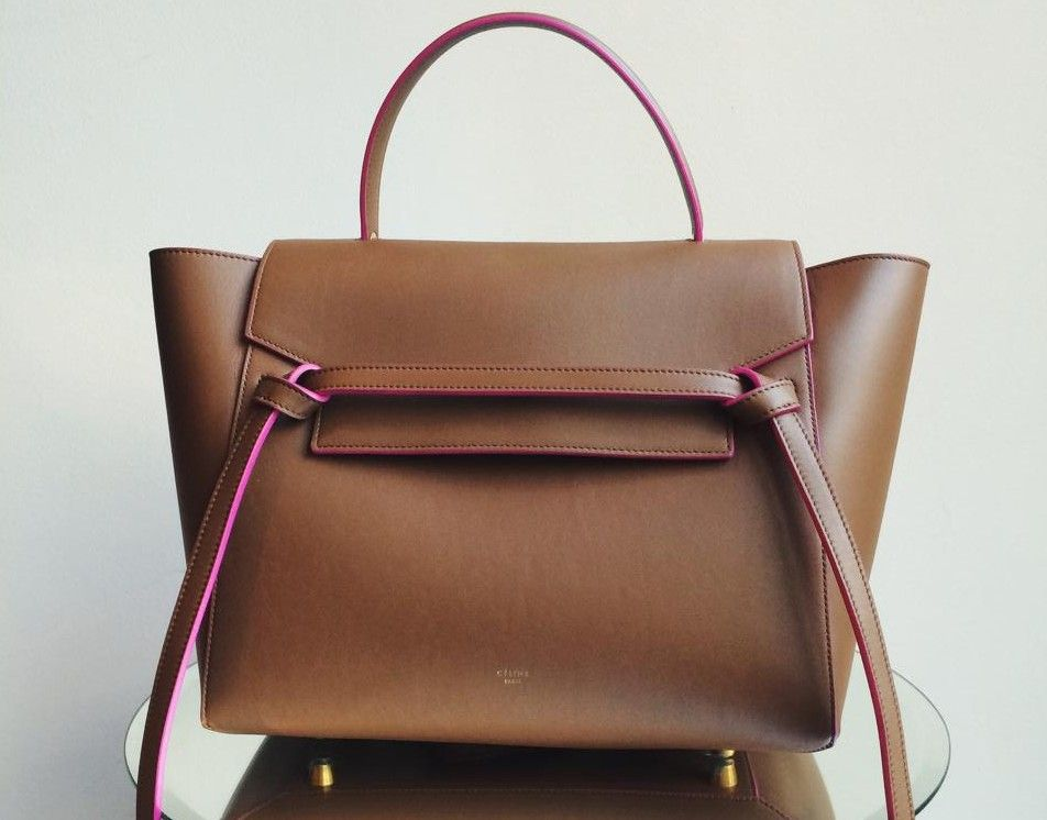 307bf9258071a0 SELINE LUGGAGE | Celine Belt Tote Bag to be released in Mini Size for  Cruise 2015