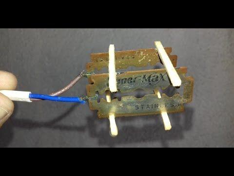 Handmade Electric Water Heater Using Blade Youtube Electric Water Heater Water Heater Heater
