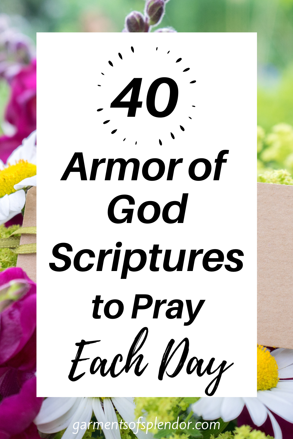25 Armor of God Scriptures to Read Each Day