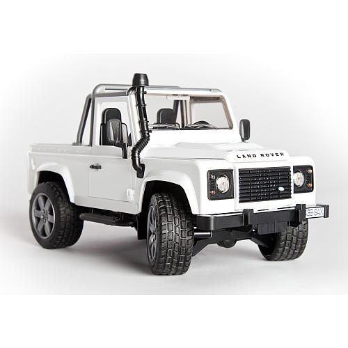 bruder land rover defender pick up truck trucks. Black Bedroom Furniture Sets. Home Design Ideas