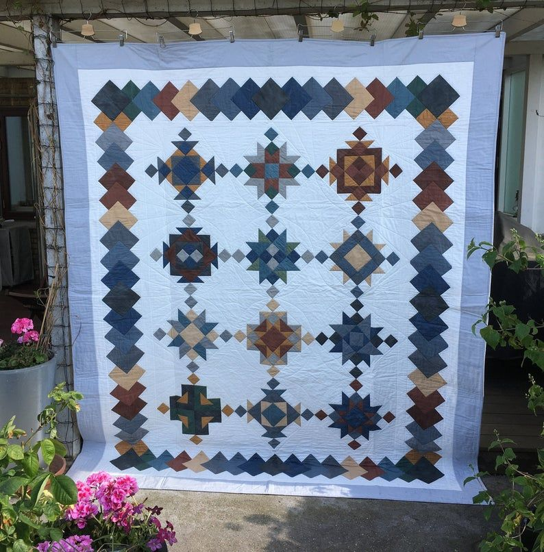 A New Age Patchwork Quilt In 2020 Quilts Quilts For Sale Quilt Making