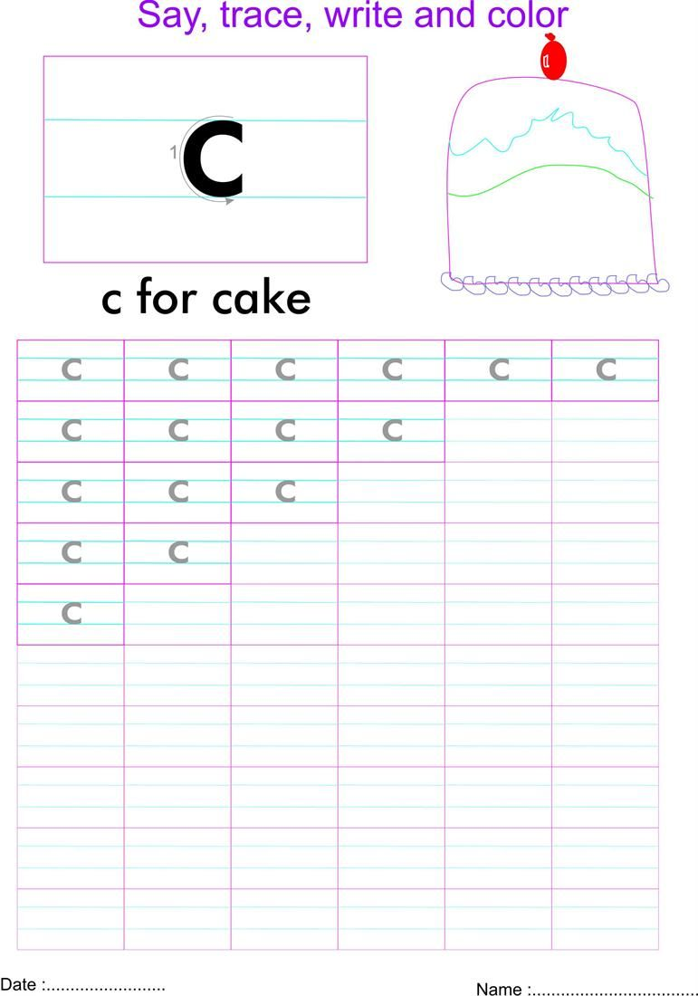 Pin By Audrey Akrong On Worksheets Letter C Worksheets Small Letters Letter Worksheets [ 1100 x 771 Pixel ]