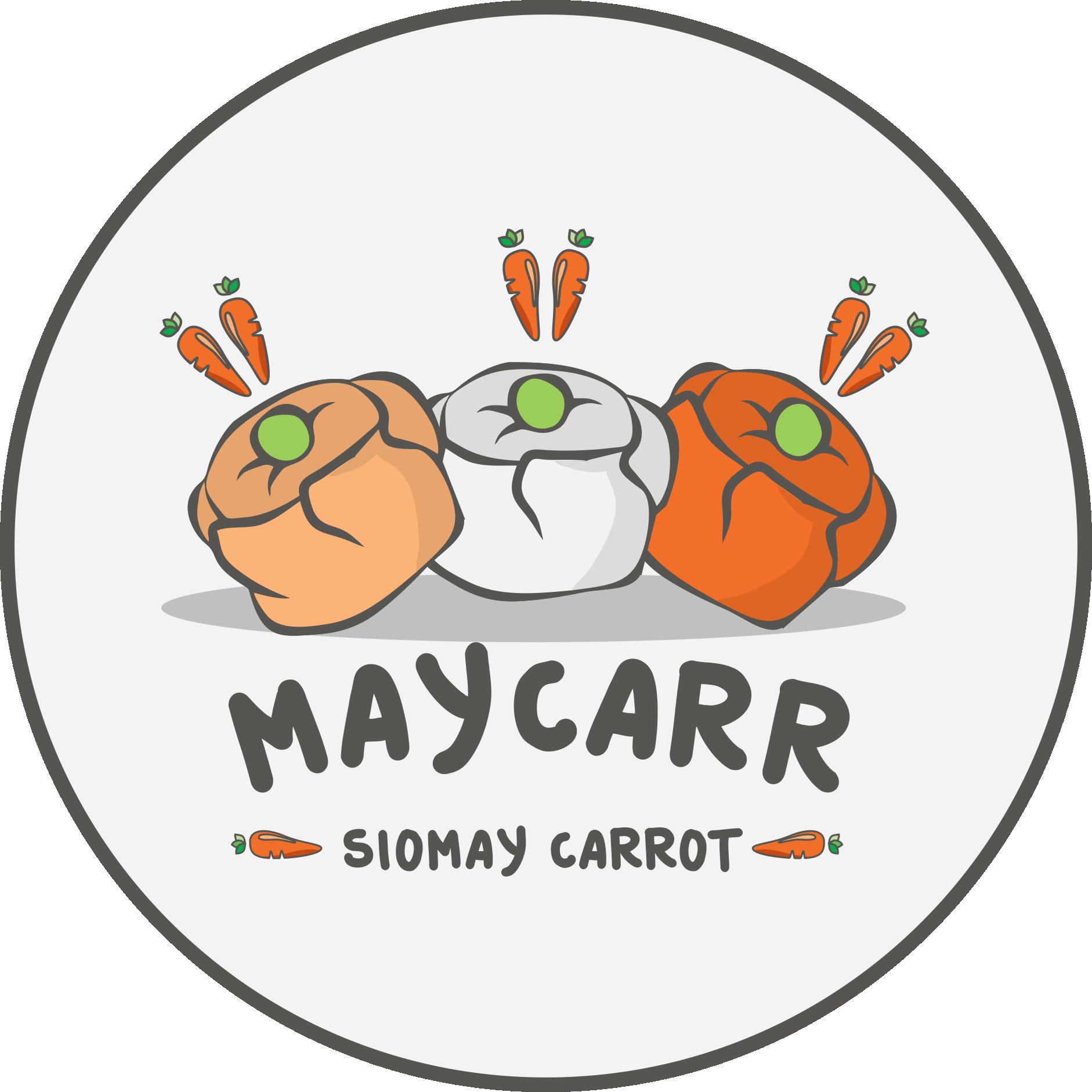 Logo Maycarr Fix (Siomay Carrot) (Dengan gambar) Desain