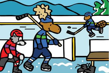 If your kids love the good ol' hockey game, they'll love these books about Canada's most popular sport.