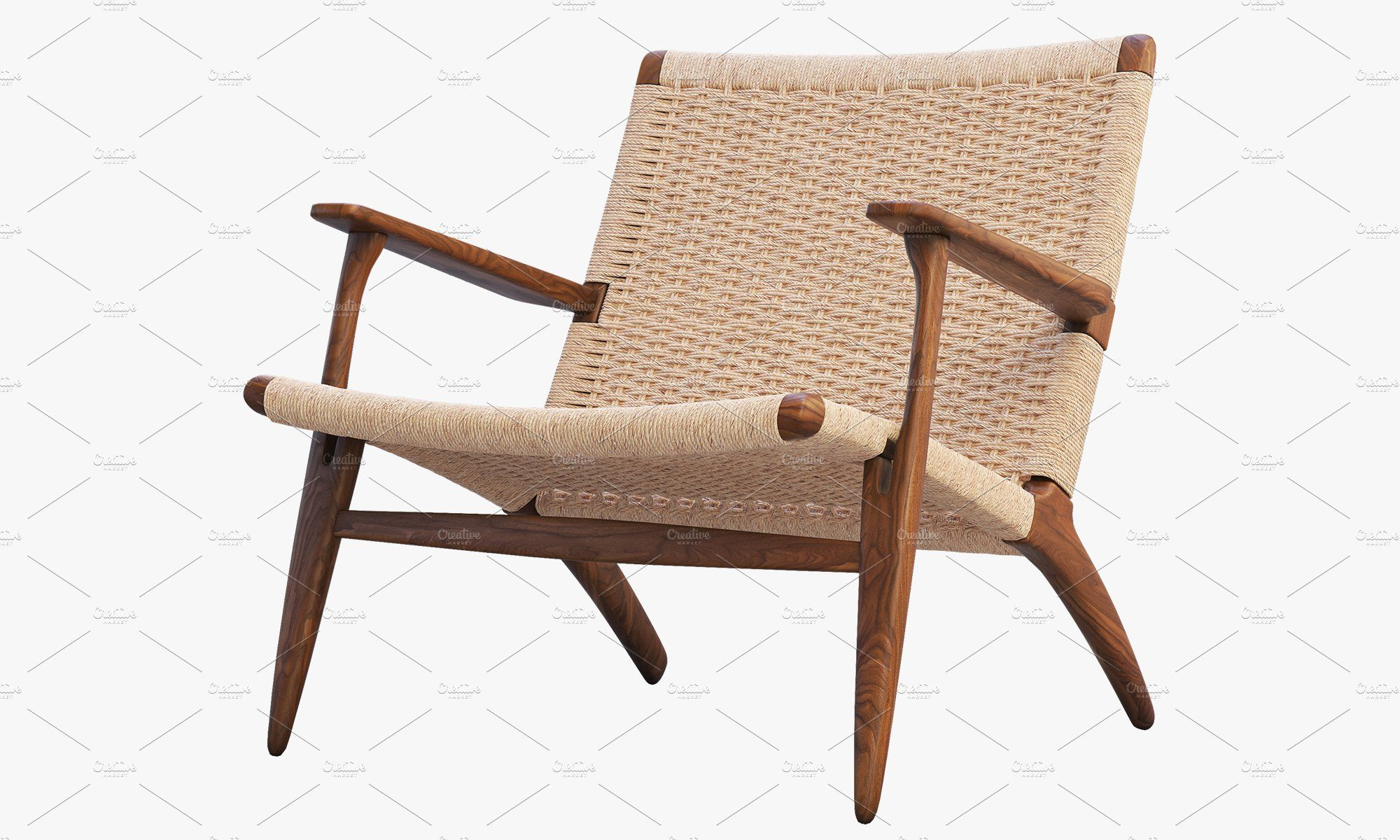 CH25 Lounge Chairs 3d model , AFF, qualitymodels