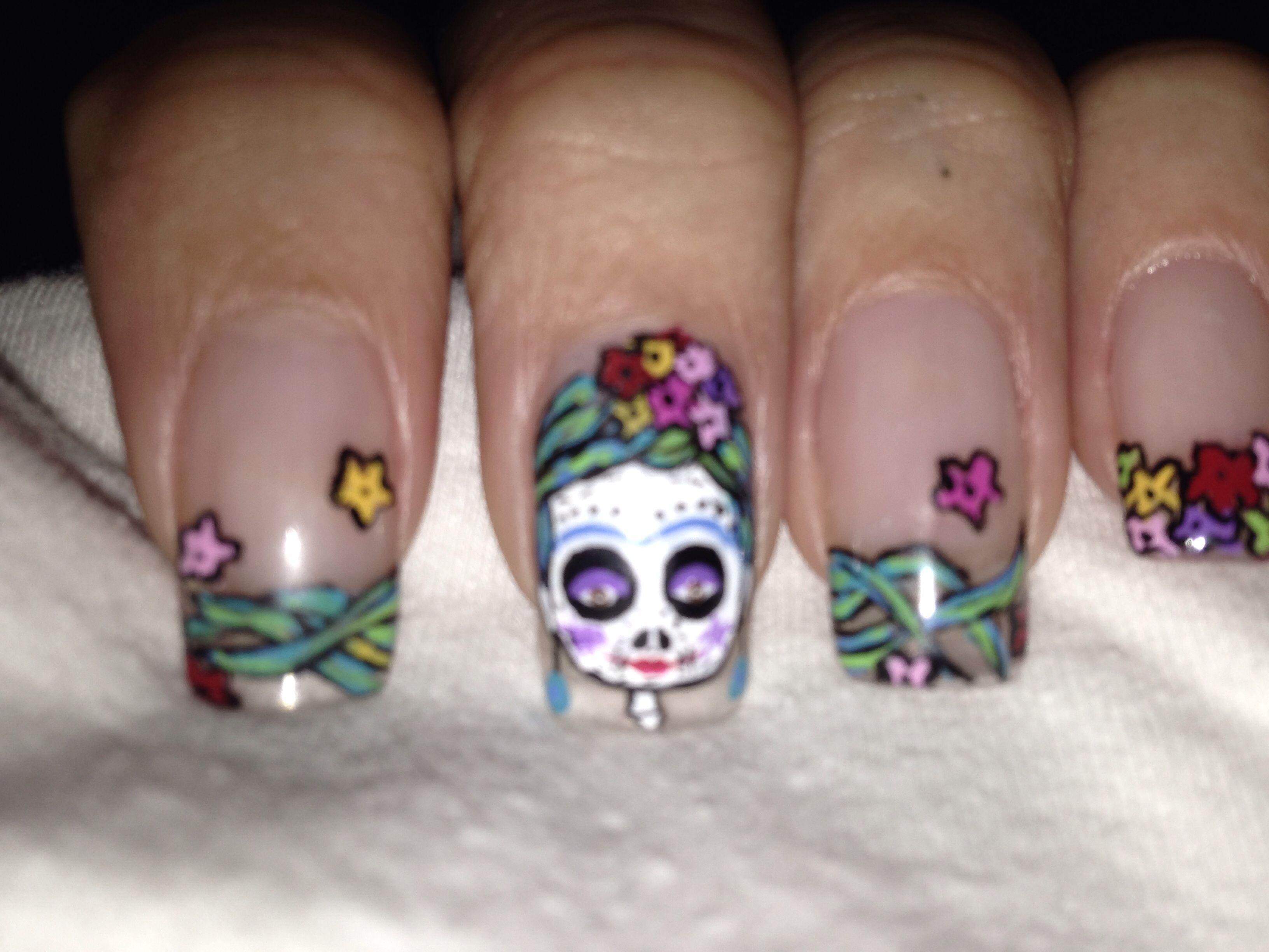 sweet catrina's nails make up | arte uñas | pinterest | nails