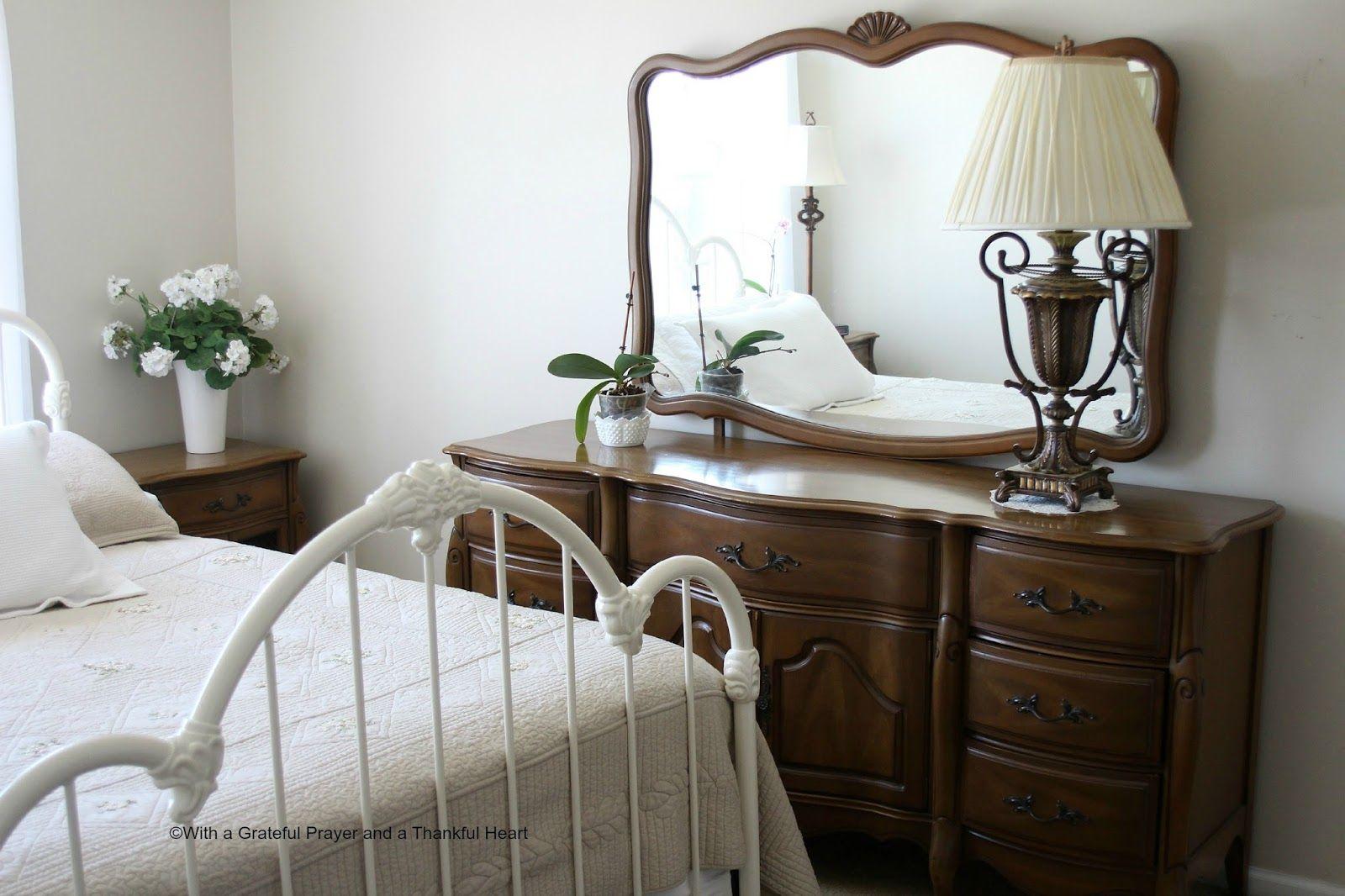Vintage French Provincial Bedroom Set Bedroom furniture