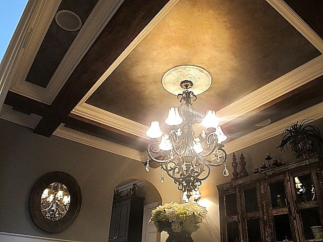 coffered ceilings by jenny blalock, luxe homes & design ...