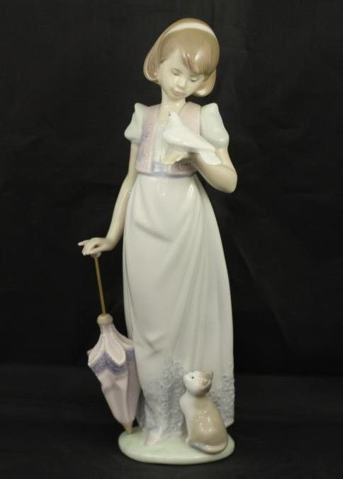 with number bottom on out Lladro