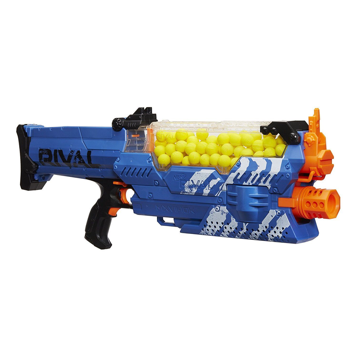 So we've ben playing around with the new Nerf Rival Apollo and its  associated High Impact Rounds (HIR). They're a new ammo type; a bright  yellow dimpled ...