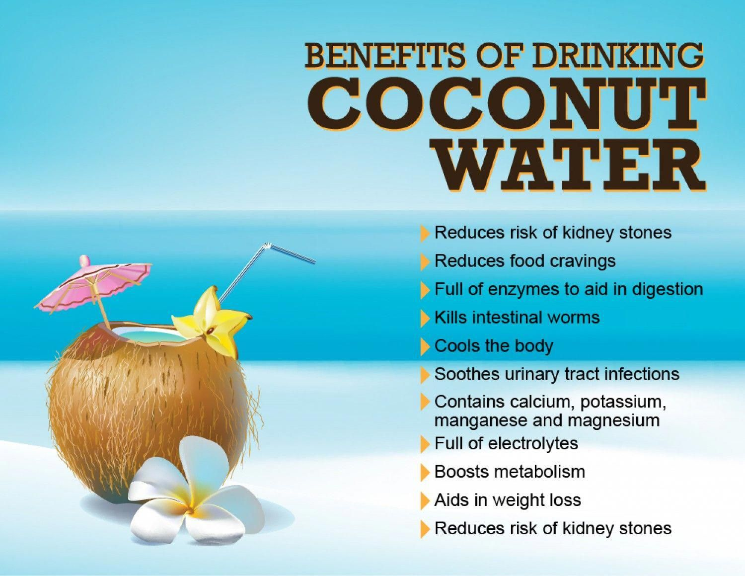 7 amazing benefits of drinking coconut water daily | coconut