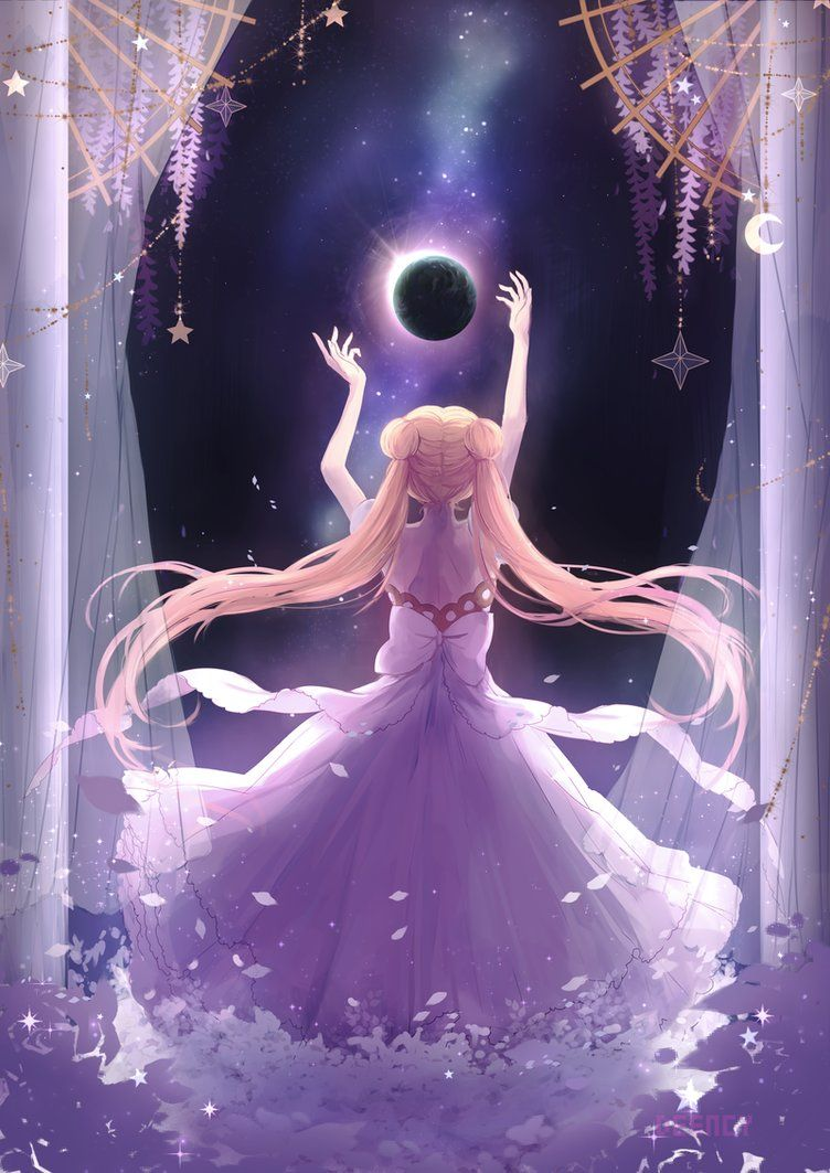 Distance Sailor Moon By Deency With Images Sailor Moon Wallpaper