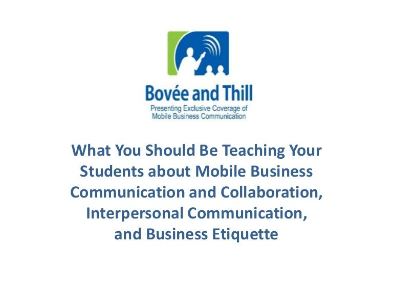 Tips And Techniques For Teaching Business Communication And