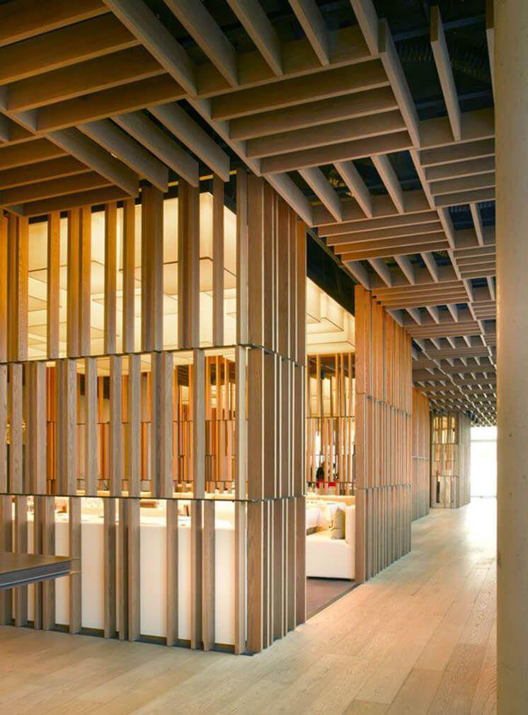 Material Excess Ceiling Design Architecture