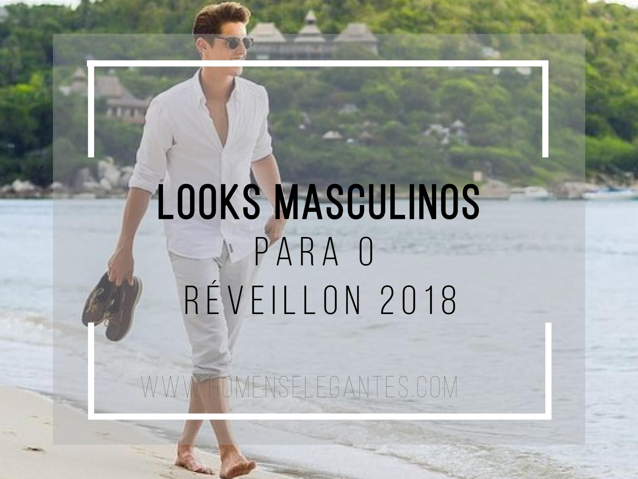 Já, estamos bem próximos do final do ano! E a grande maioria das pessoas, já começaram a procurar dicas, ideias de Roupas masculinas para Réveillon 2018.