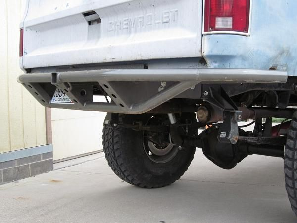Tube Rear Bumpers Chevy Gm K5 Blazer Suburban Pickup Truck