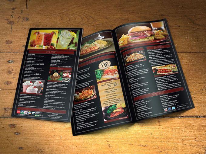 Tony romau0027s Restaurant menu Flyer and Brochures Pinterest - restarunt brochure