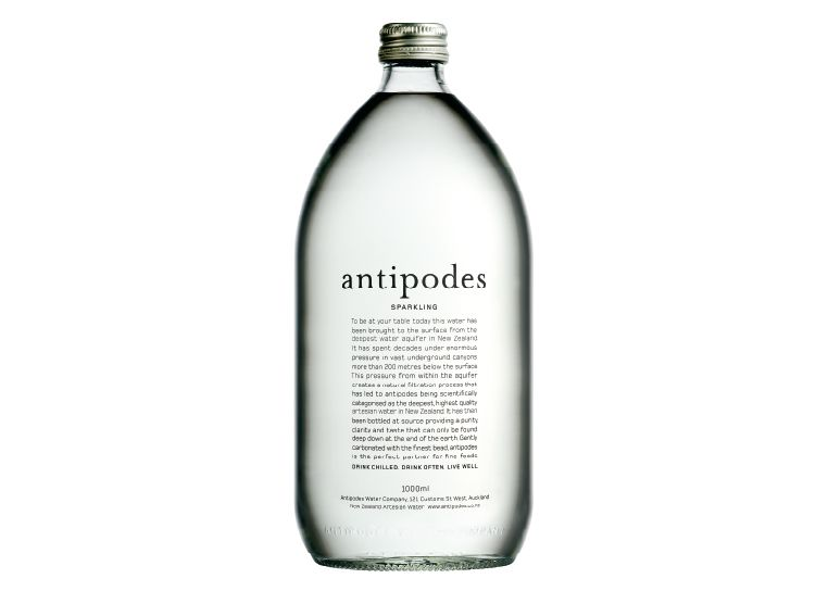 loving this bottle: antipodes water