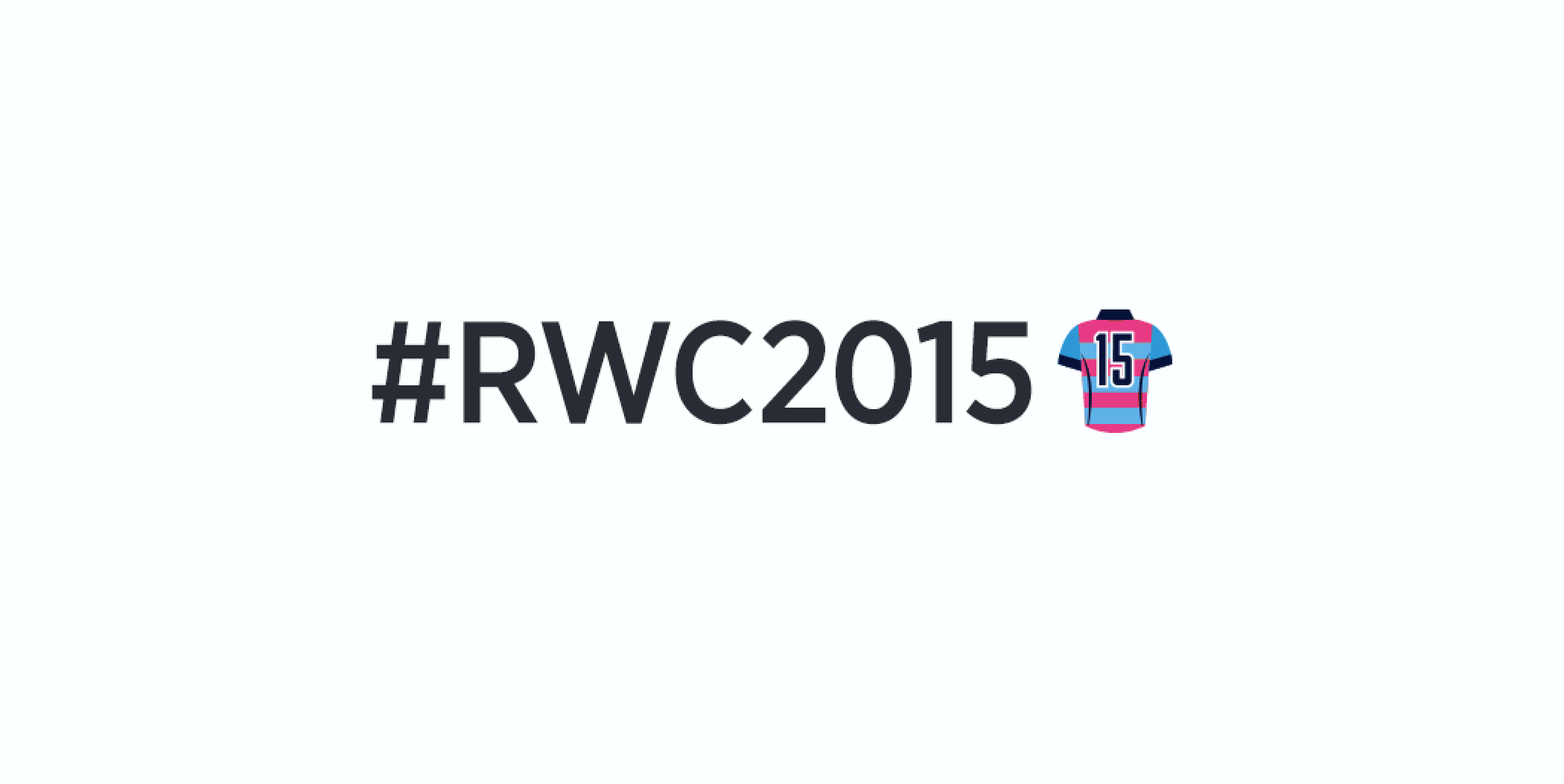 Twitter Unleashes Special Hashtag Emoji For The 2015 Rugby World Cup 2015 Rugby World Cup Rugby World Cup World Cup