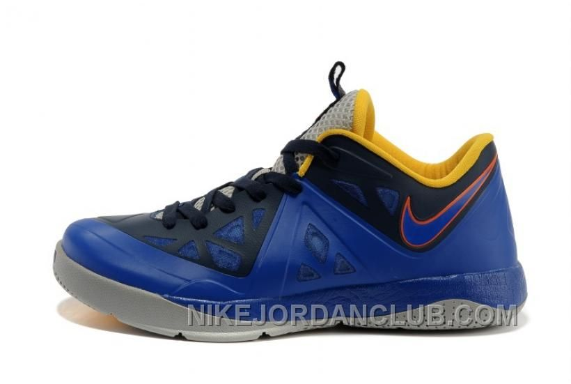 sale retailer aabad b7f5b ... Buy For Sale Nike LeBron ST Low II Discounted Mens Shoes Blackened Blue  Hyper Blue- ...