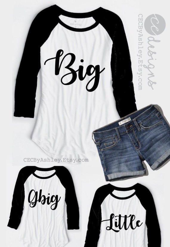 Big little reveal big little shirts Big Little Sorority #biglittlereveal
