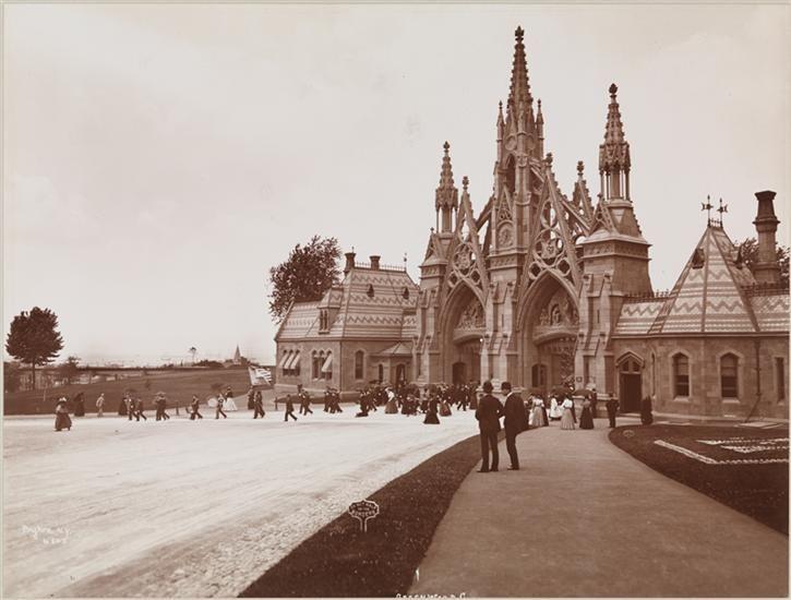 Greenwood Cemetery in Brooklyn, NY 1899 Greenwood