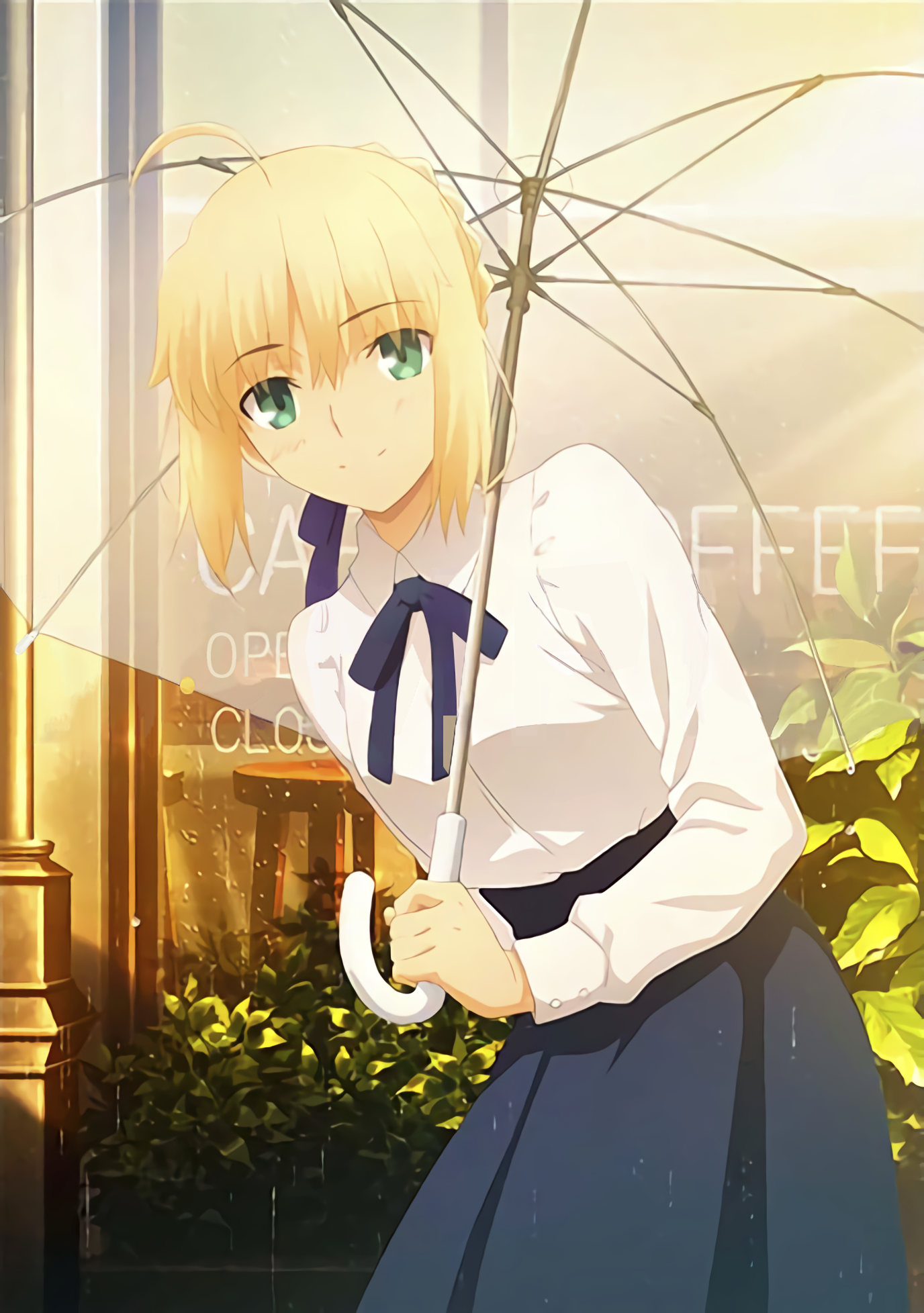 Saber in the Rain Saber in 2020 Fate stay night movie