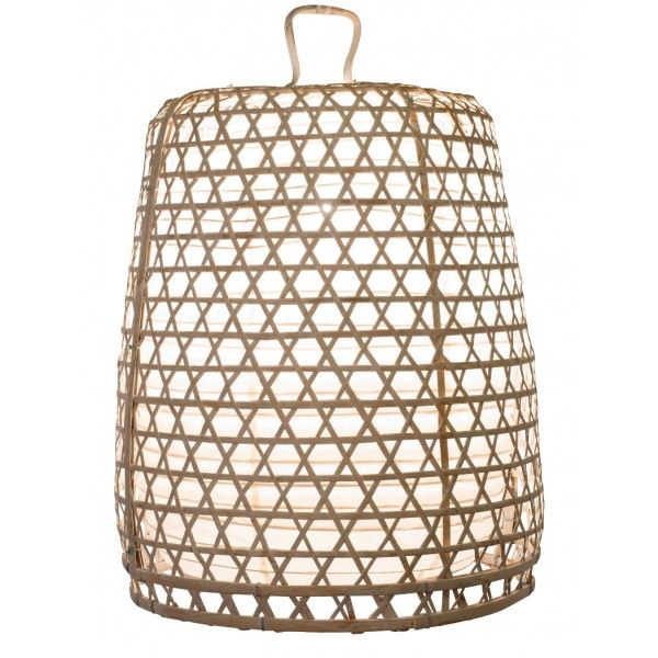 Lampenschirm bambus basket xl weiss lights pinterest for Asiatische deckenlampe