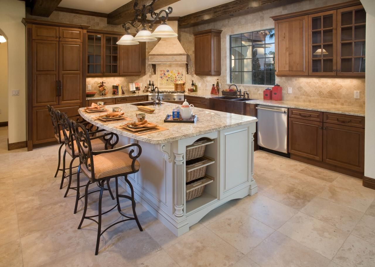 Best Kitchen Countertop Pictures: Color & Material Ideas | Island ...