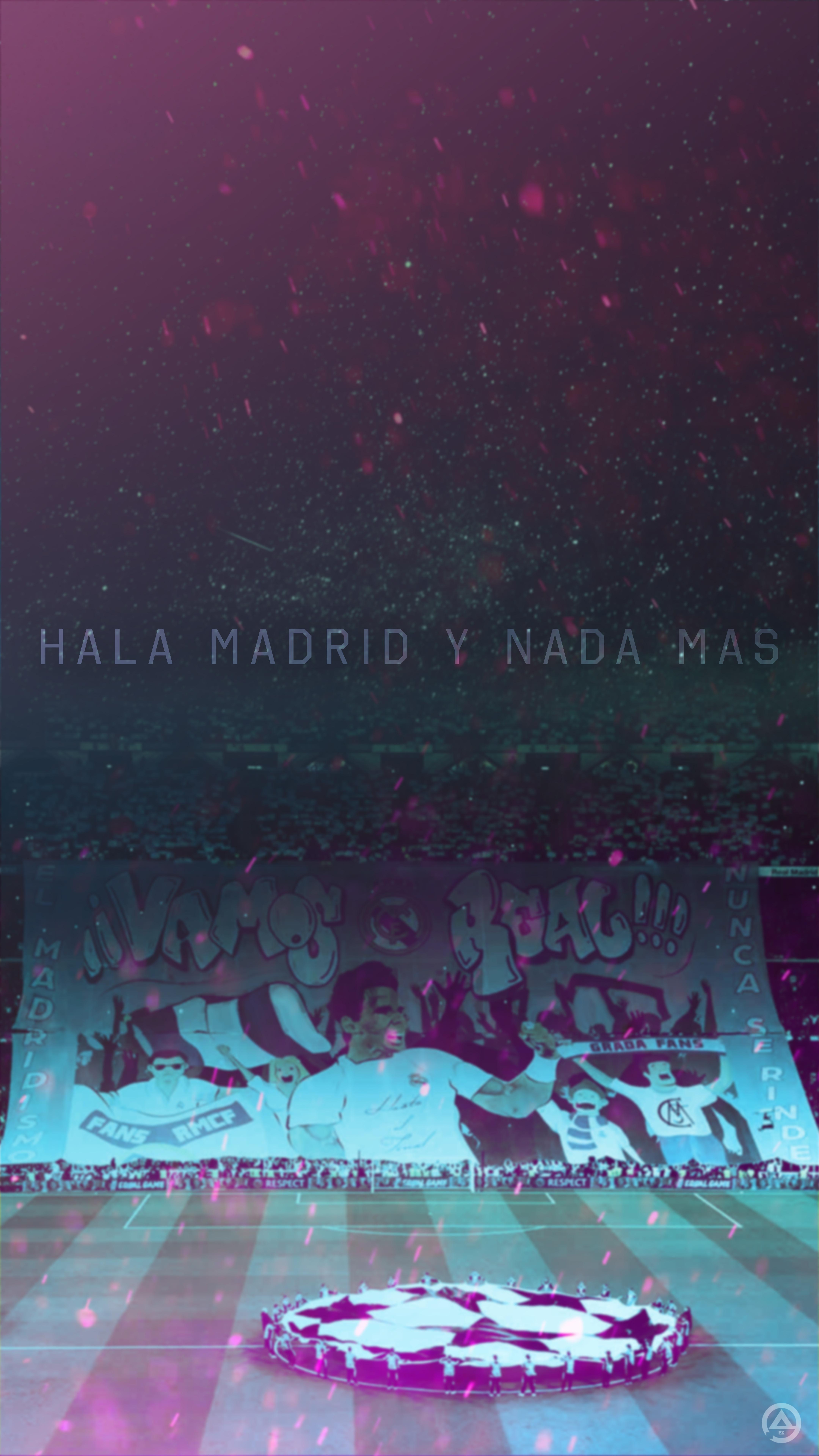 Hala Madrid Y Nada Mas From Psg Game Lockscreen Real Madrid Wallpapers Real Madrid Logo Real Madrid Football