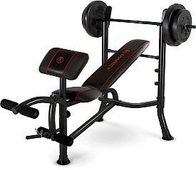 Standard Bench With 80 Lbs Weight Set; $159 Sports Authority