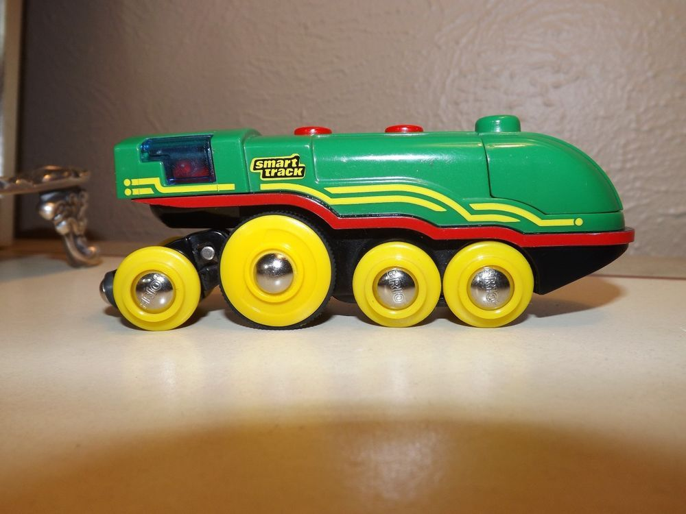 Motorized Brio Smart Track Engine For Wood Track As Is Free