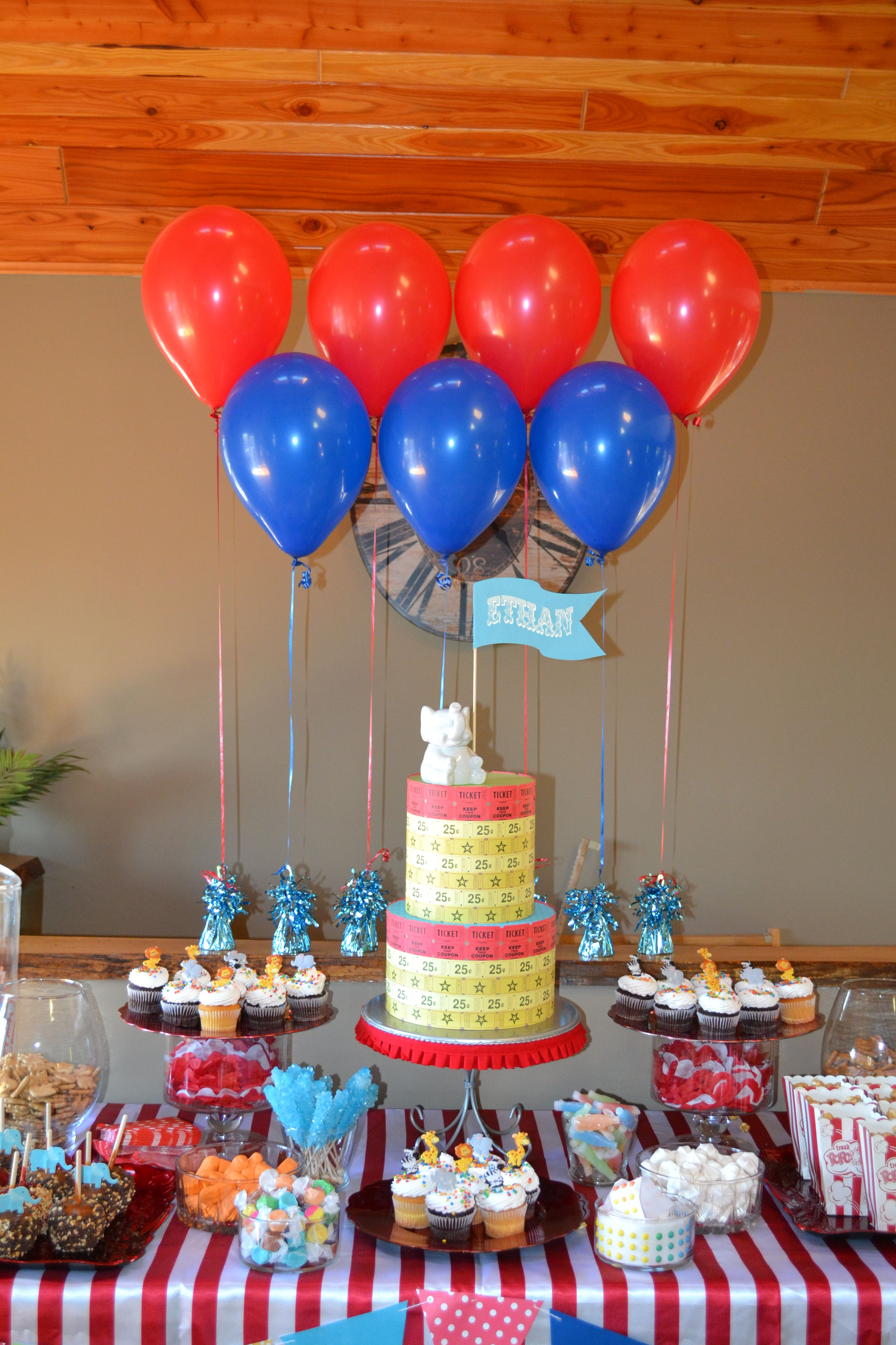 The Dessert Table At My Baby Shower For Ethan