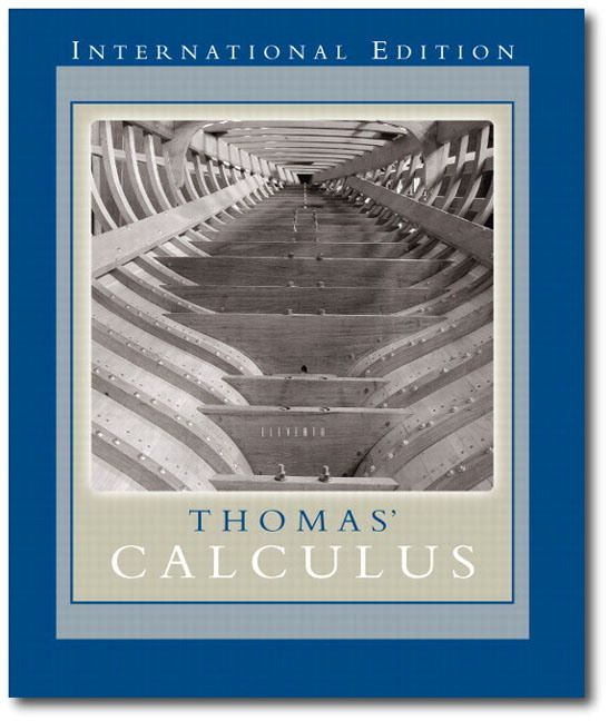Thomas Calculus 11th Textbook Solutions