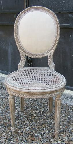 Petit Chaise Louis Xvi Cannee Furniture Chair Dining Chairs