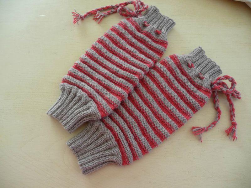 Nouvelle collection : Jambières en laine CALINE de Bergère de France
