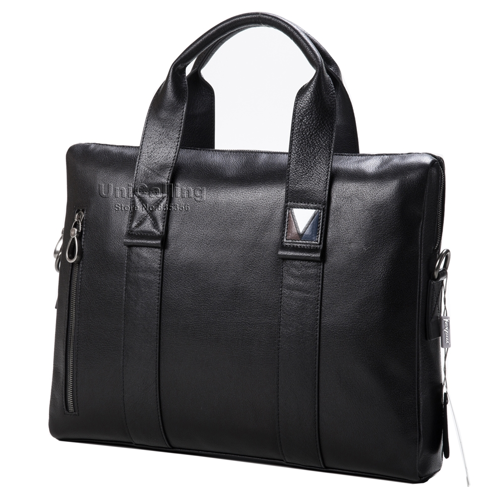 118.00$  Watch now - http://aliadc.worldwells.pw/go.php?t=32732049369 - Men bag luxury brand stylish men's leather briefcase high quality leather men business briefcase leisure leather handbag
