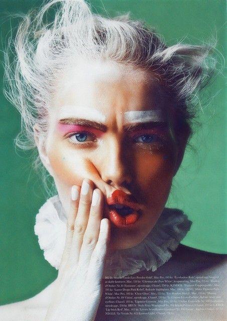Astrid Eika by Sune Czajkowski for Elle Beauty
