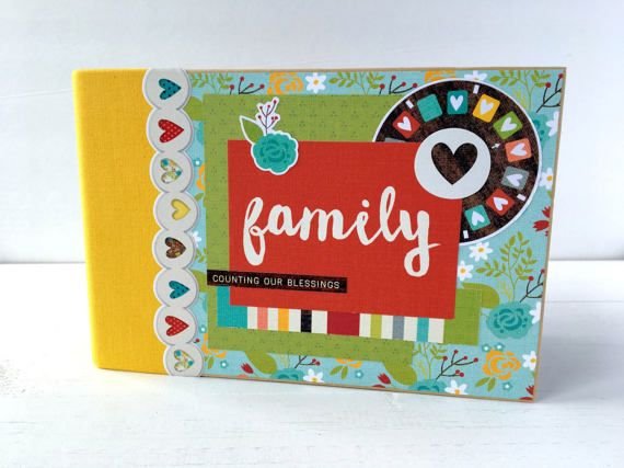 Treasure Your Familys Memories In This Charming Premade Mini