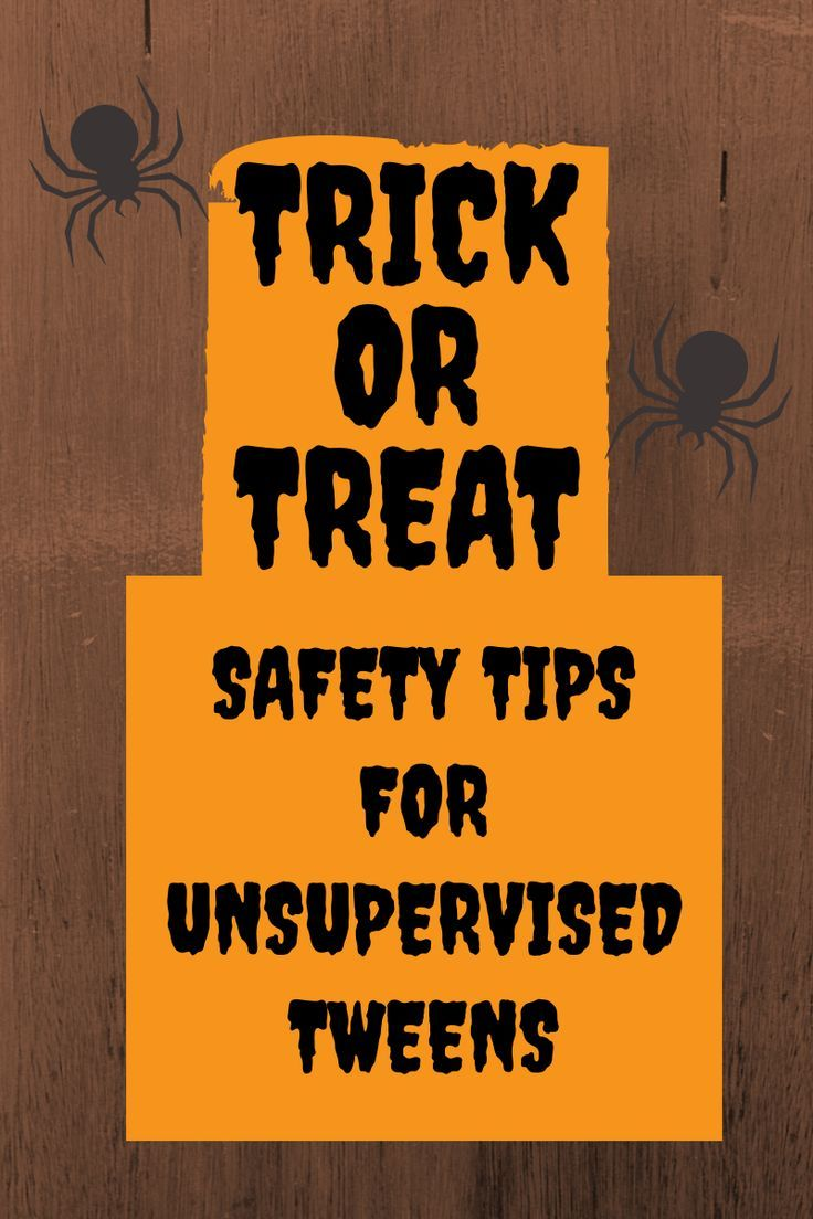 Halloween Safety Tips for Tweens (With images) Halloween
