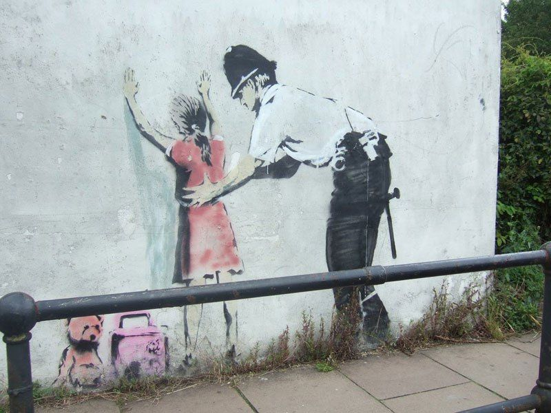 The Ultimate Banksy Gallery 127 Photos Banksy Graffiti Banksy