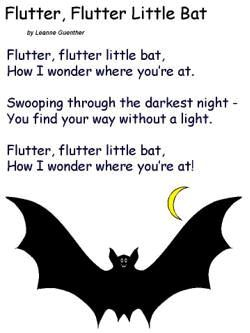 Halloween Song - Flutter Little Bat