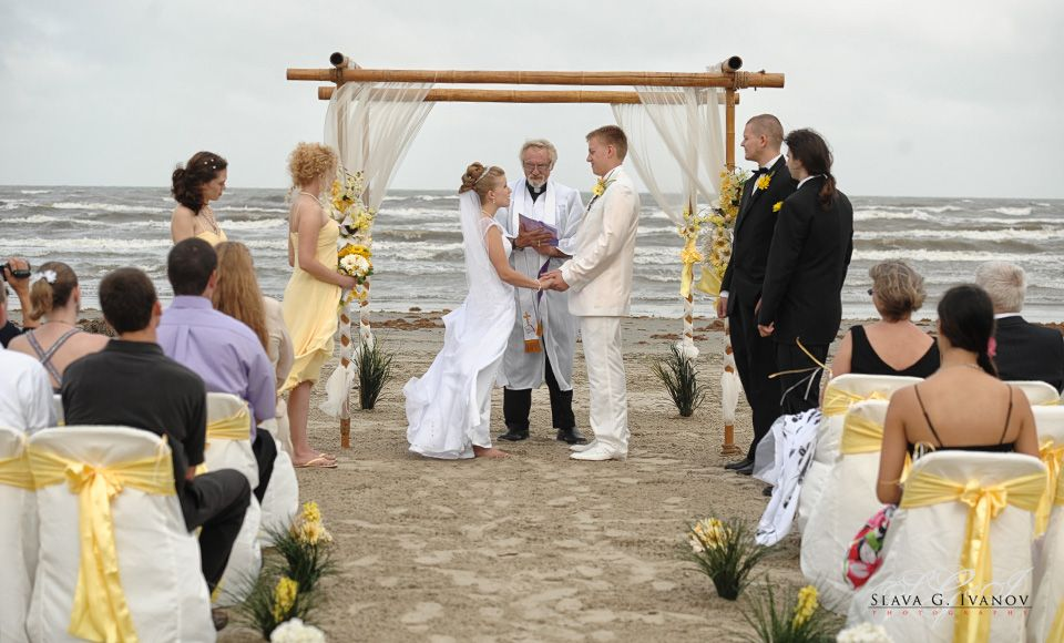 Beach Weddngs In Texas Wedding Photography Galveston