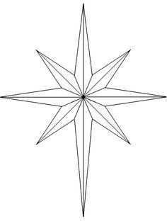 Patterns For Bethlehem Building Silhouette Google Search Star Template Nativity Star Stained Glass Christmas