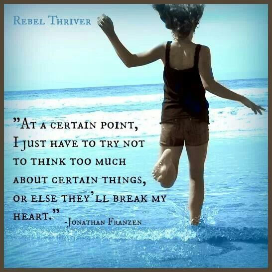 Over thinking is my worst enemy :-\
