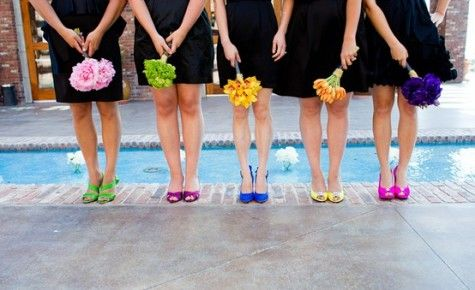 Collection Wedding Shoes For Bridesmaids Pictures - Weddings Pro
