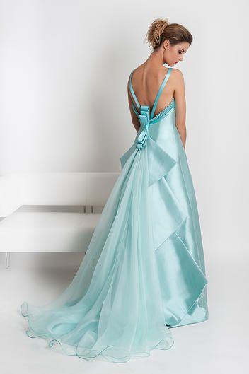 San Francisco assolutamente alla moda autentica di fabbrica abito da sposa azzurro Enzo Berardinucci Dione   Abiti da sposa ...