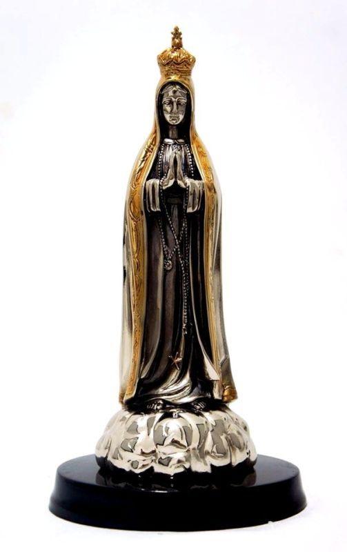 Nossa Senhora De Fátima/Virgem De Fátima (sem base)/9.84 Polegadas/Bronze-níquel