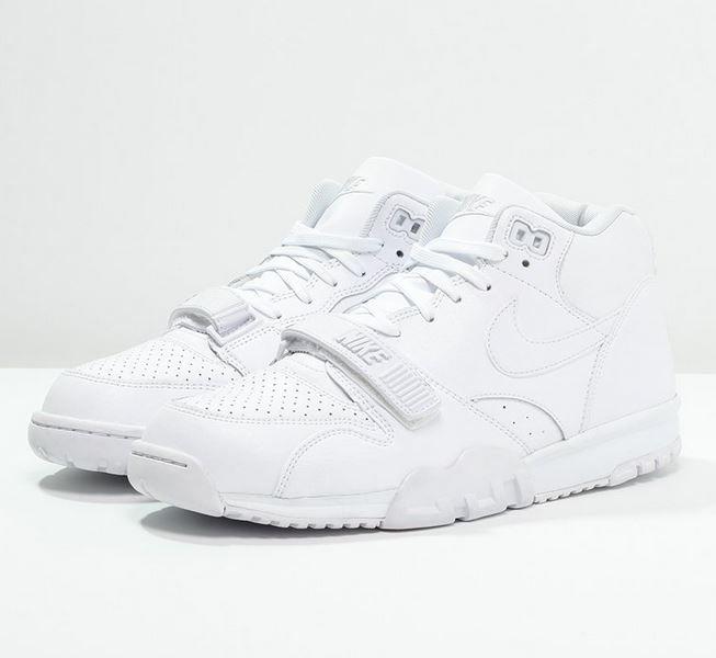 nike sportswear air trainer huarache - baskets basses - white/pure platinum